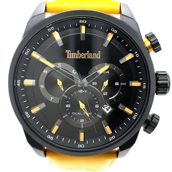 Timberland Mens Milway Chronograph Black Tone Watch