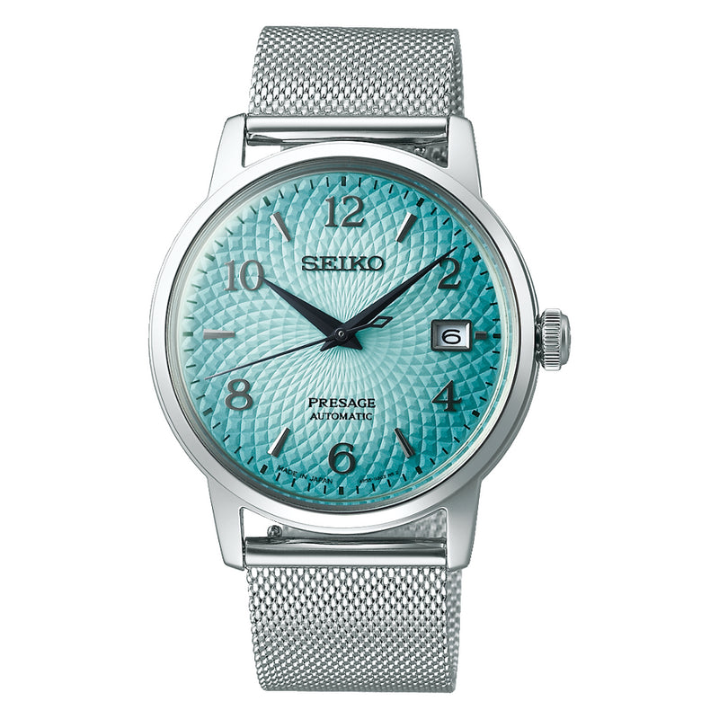 Seiko Presage Blue Dial Mens Automatic Watch