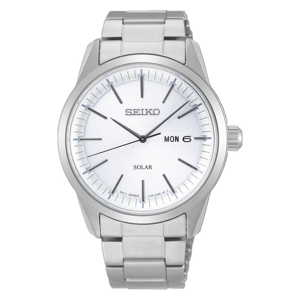 Seiko Stainless Steel Mens Dress Watch
