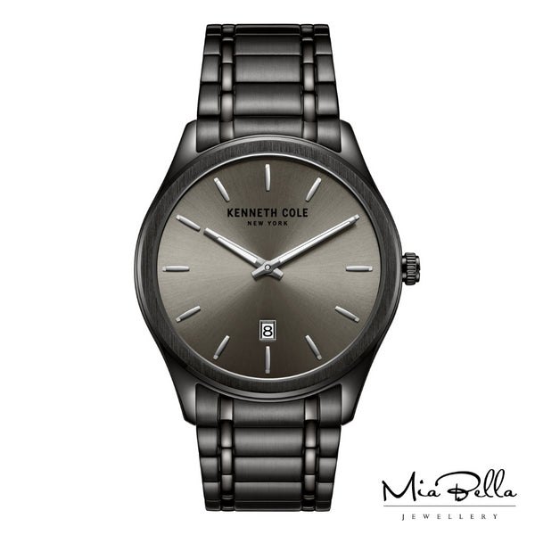 Kenneth Cole Gun Metal Grey Mens Watch