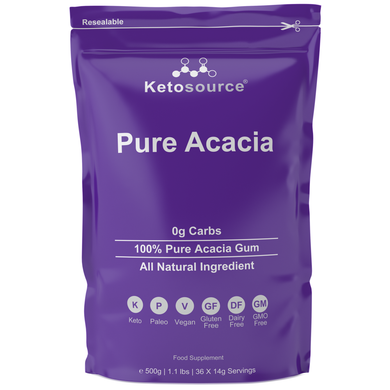 Case of 10 x Ketosource Pure Acacia (500g)