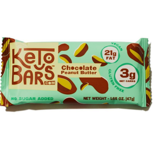 Keto Bars - Chocolate Peanut Butter (Box of 10)