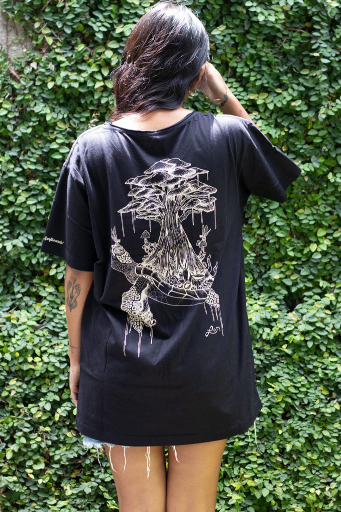 KAYU X LO art Tee - Kayu Surfboards