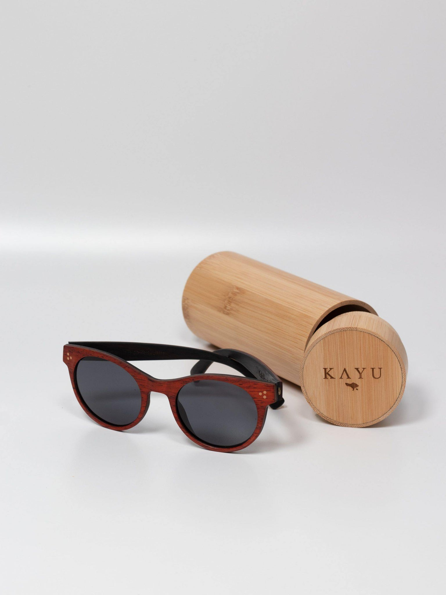 The Batu Bolong Red Rosewood - Kayu Surfboards