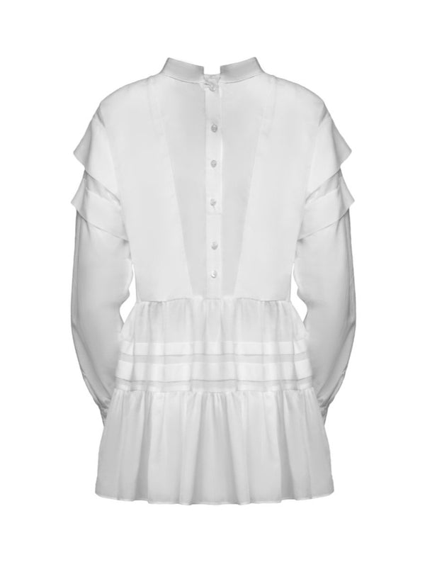 Helene Galwas, Daniela, White, Tunic Dress, Tunika