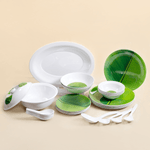 Banana Leaf Dinner Set (Round)
