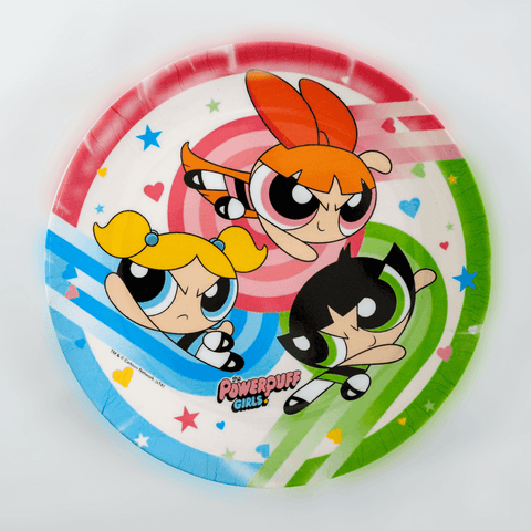 Power Puff Girls Plate