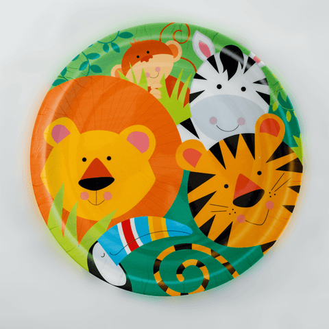 Jungle Animals Plate