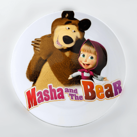 Masha And The Bear Plate