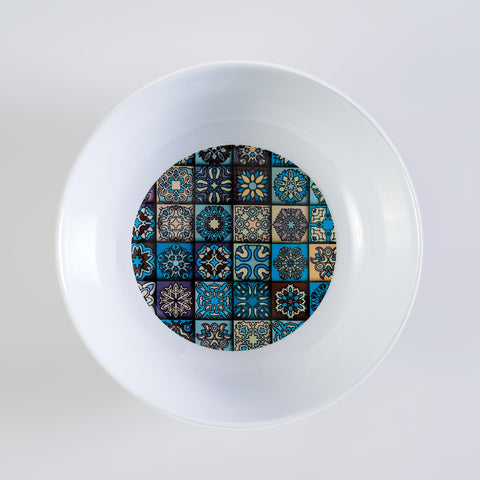 Mosaic Tile Curry Bowl