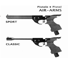 Air Arms Pro Sport Classic Competition Pistol Airgun Air Rifle Gun Owners User Manual Instant Download #AirArms
