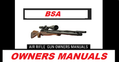 Bsa Air Rifle Gun Owners Manuals  Exploded Diagrams Service Maintenance And Repair