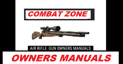 Combat Zone Stryker Pistol  Air Rifle Gun Owners Manuals  Exploded Diagrams Service Maintenance And Repair