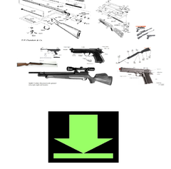 DOWNLOAD AIR RIFLE GUN OWNERS MANUALS AND EXPLODED PARTS DIAGRAMS