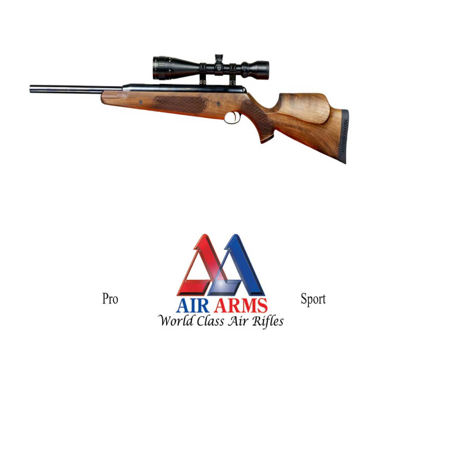 Air Arms Pro Sport  Airgun Air Rifle Gun Exploded Parts Tear Down Diagram Download #AirArms