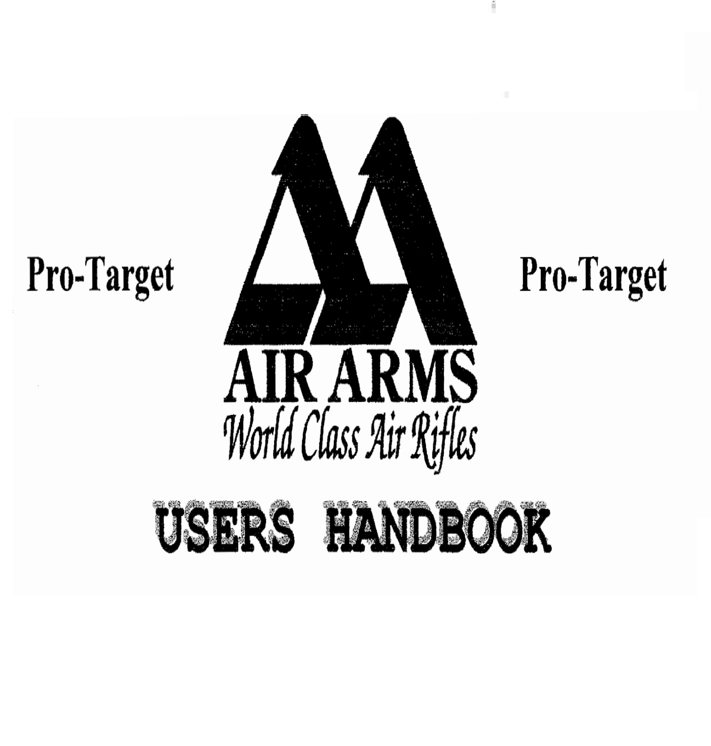 Air Arms Pro Target Users Handbook Airgun Air  Rifle Gun Owners Manual Instant Download #AirArms