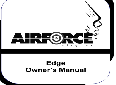 Air Force EDGE  Rifle Safety and Operational Airgun Air Rifle Gun Owners Manuals Firearms Weapons DOWNLOAD  #AirForce