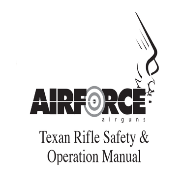 Air Force Texan Rifle Safety and Operational Airgun Air Rifle Gun Owners Manuals Firearms Weapons Complete Set