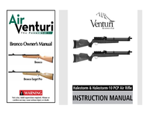 Load image into Gallery viewer, Air Venturi Complete collection Air Rifle Air Rifle Gun Owners Manuals