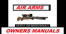 Load image into Gallery viewer, Air Arms Njr 100  Airgun Air Rifle Gun Pistol Owners Manual Instant Download #AirArms