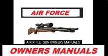 Load image into Gallery viewer, Air Force Rifle Safety and Operational Airgun Air Rifle Gun Owners Manuals Firearms Weapons #AirForce