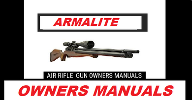 Armalite M15a1 Apring Airsoft Owner Manual