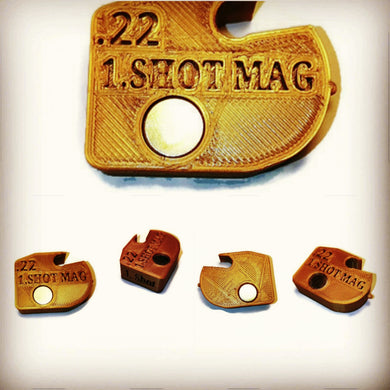 1 Shot Magazine Fits .22 BSA GAMO PHOX Air Rifle Gun