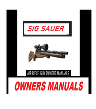 Load image into Gallery viewer, Sig Sauer MCX MPX .177 co2 Owners Manual and Exploded Diagram