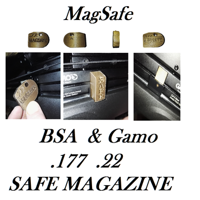 Magsafe BSA & Gamo Phox Air Rifle SAFE Magazine .177 .22