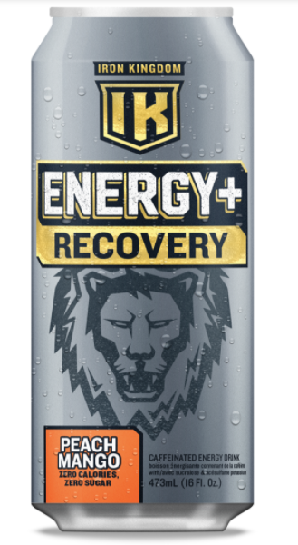 Iron Kingdom Energy + Recover Peach Mango | The Yardhouse Kelowna