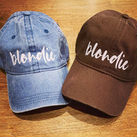 Blondie Hat