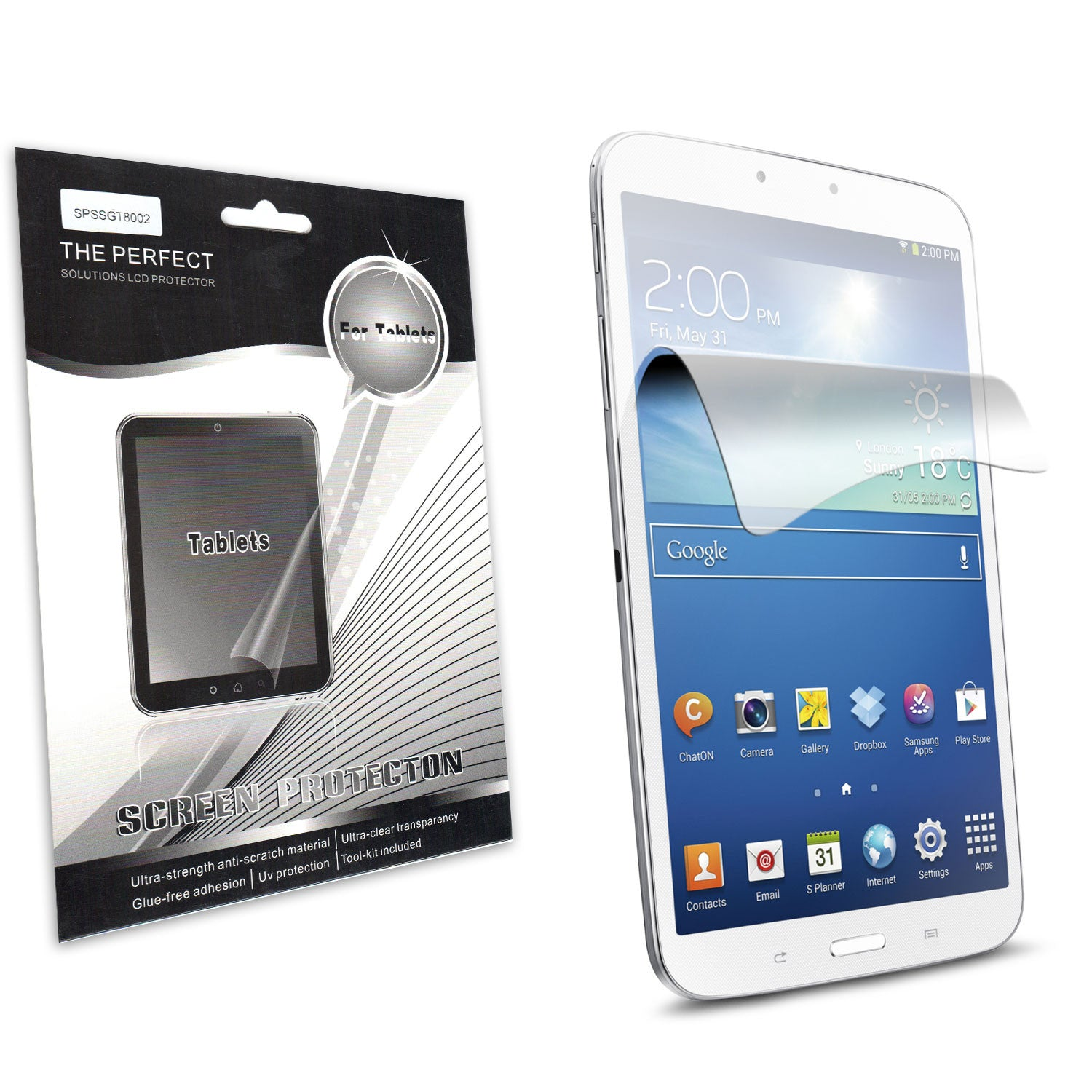 Tempered Glass Tablet Screen Protector Film For HP 7 Plus G2-1331