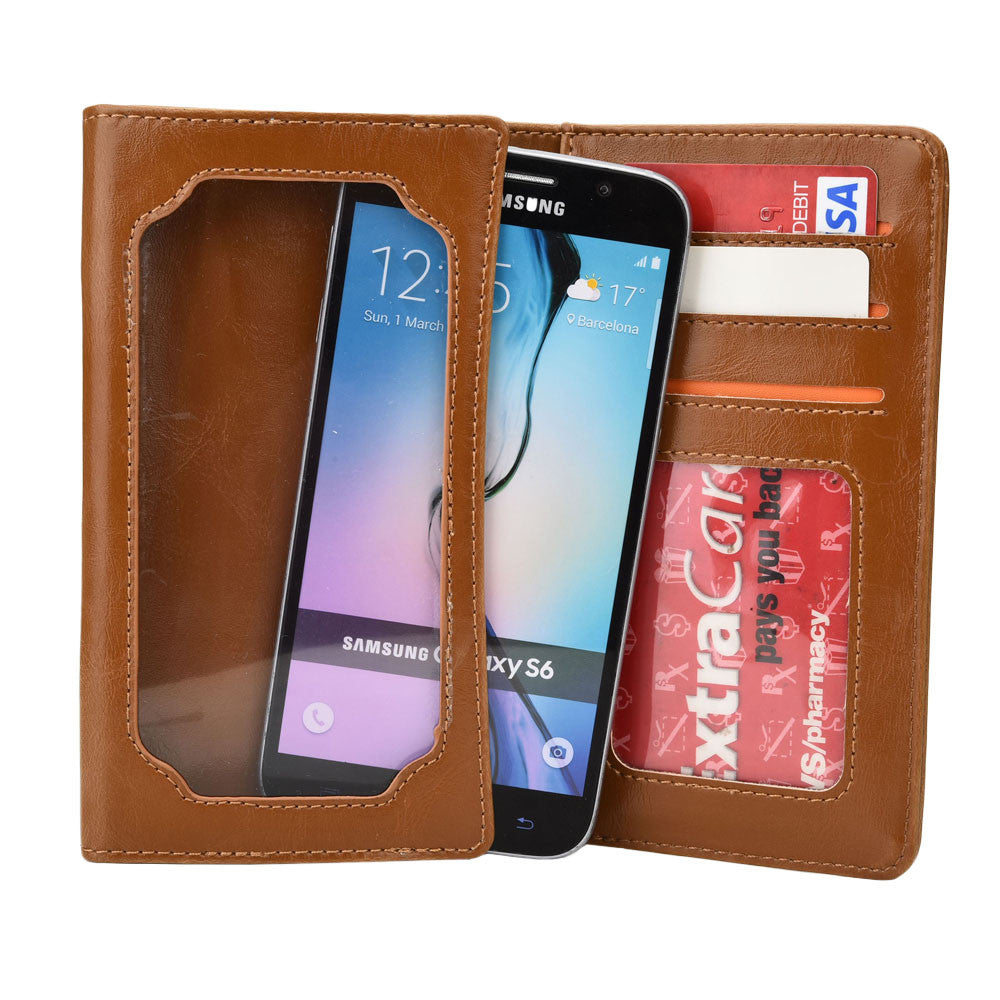 Cooper Infinite Pro Universal Smartphone Leather Wallet NEW - 1
