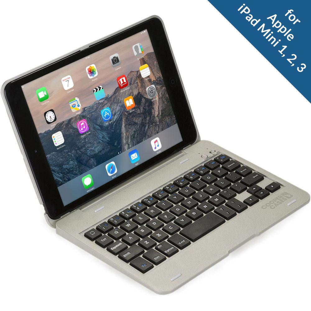 cooper kai skel p0 clamshell keyboard case for apple ipad mini 1 2 3cooper kai skel p0 clamshell keyboard case for apple ipad mini 1 2 3 4 cooper cases