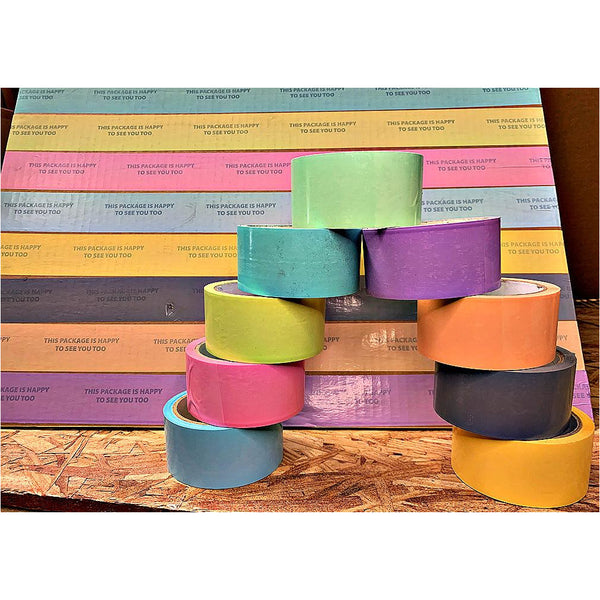 "Premium Hot Melt Colored Tapes Limited Edition Pastels (2"" x 150 ft)(6-PACK)"