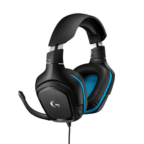Logitech G 431 7.1 Surround Sound Gaming Headset with DTS Headphone (Black)