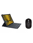 Logitech UNIVERSAL FOLIO Case with integrated Bluetooth keyboard & M 337 Bluetooth Mouse