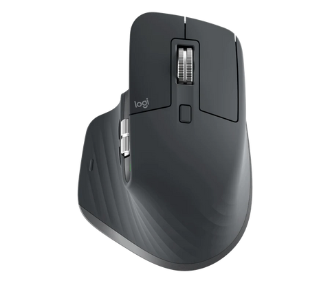 Logitech MX Master 3 Wireless Mouse, Ultrafast Scrolling, Use on Any Surface, Ergonomic, 4000 Dpi, Customisation
