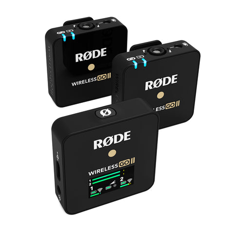 Rode Microphones Wireless GO II Dual Channel Wireless Microphone System