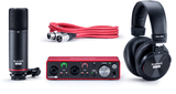 Focusrite Scarlett 2i2 Studio (3rd Gen) USB Audio Interface and Recording Bundle with Pro Tools, First