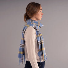 Load image into Gallery viewer, Elie Apple Check Luxury Cashmere Scarf