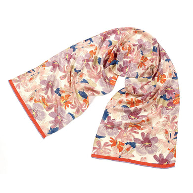 Mackintosh Flowers Silk Scarf