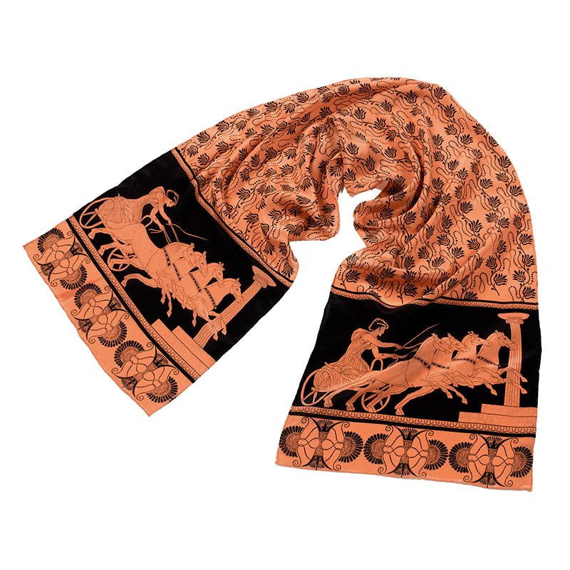 Greek Charioteer Silk Scarf