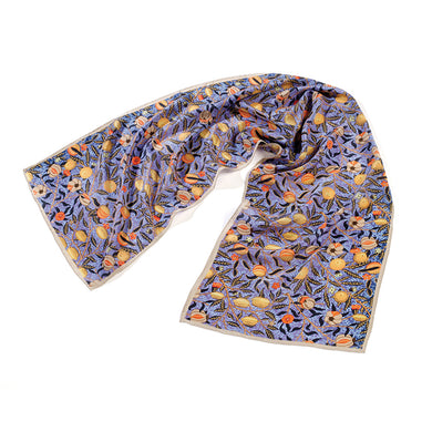 William Morris Fruit Silk Scarf