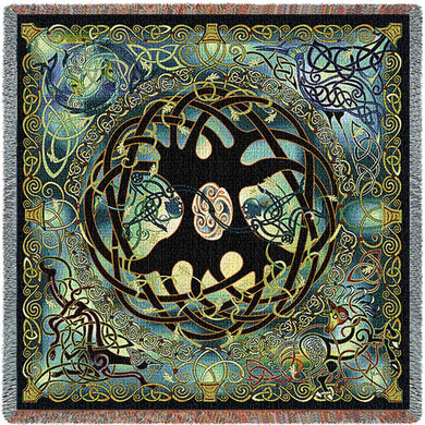 Celtic Tree Of Life Lap Square