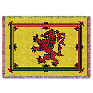 Rampant Lion Throw Blanket
