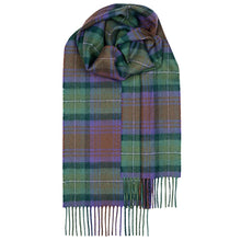 Load image into Gallery viewer, Isle of Skye Tartan Brushed Lambswool Scarf
