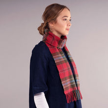 Load image into Gallery viewer, MacLean of Duart Weathered Tartan Brushed Lambswool Scarf