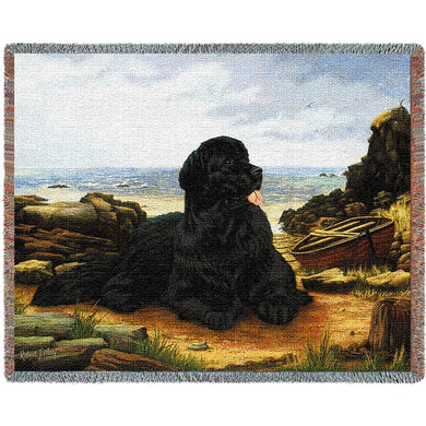 Newfoundland Cotton Throw Blanket
