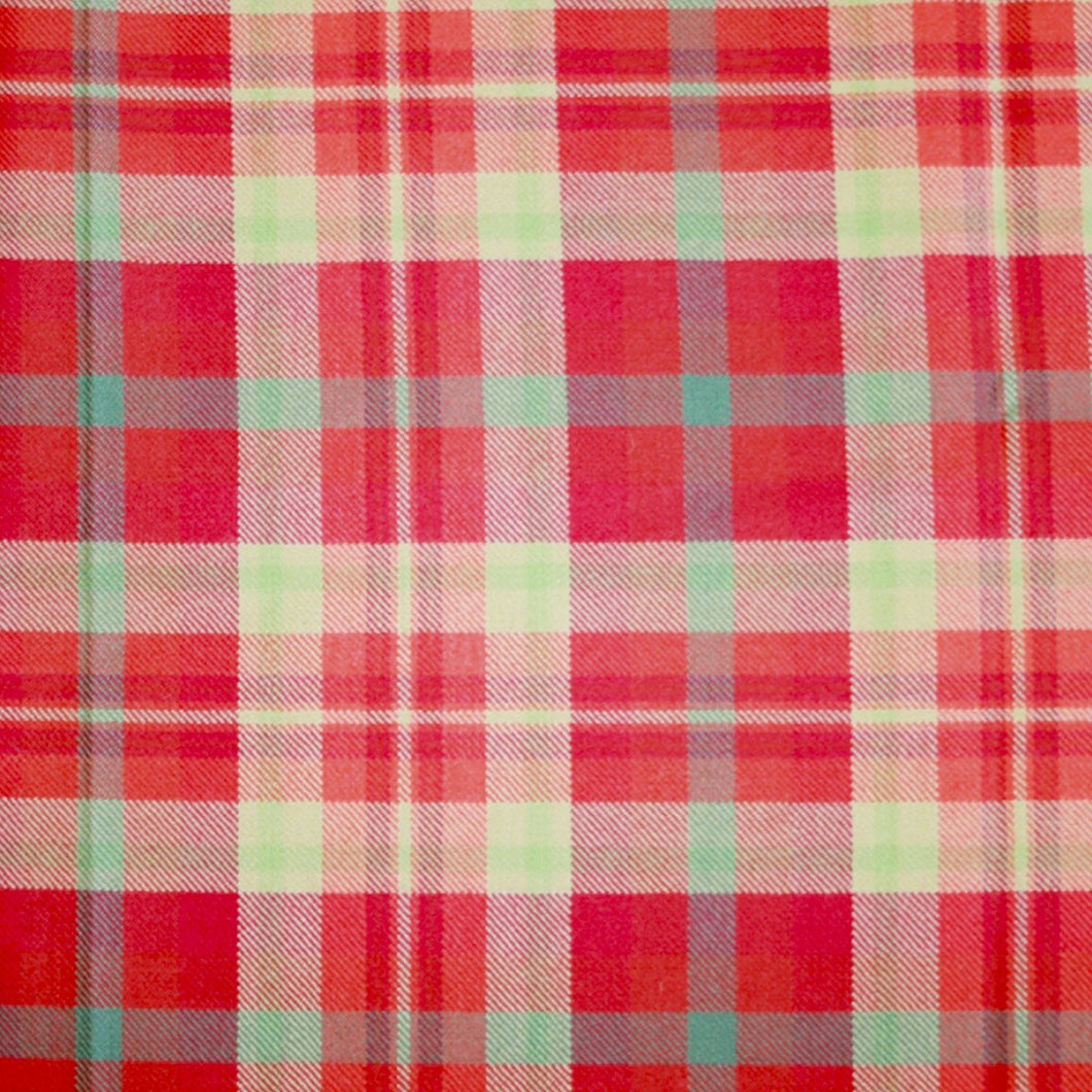 Highland Rose Light Weight Tartan Fabric